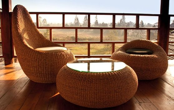 Muebles jardin rattan sintetico exterior