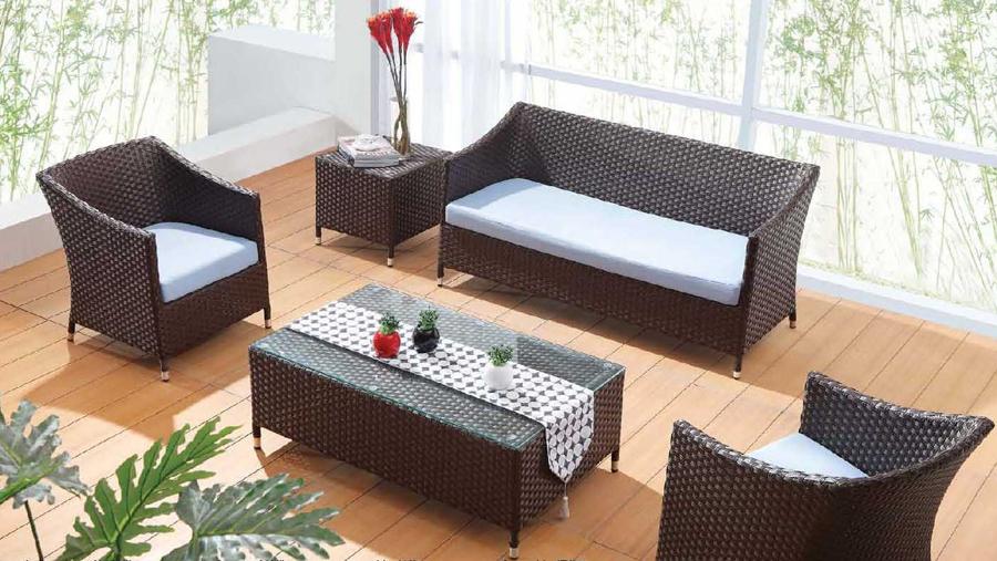 Мебель Плетеная Из Искусственного Ротанга