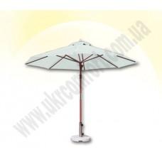 Деревянный зонт De Люкс 300 см.