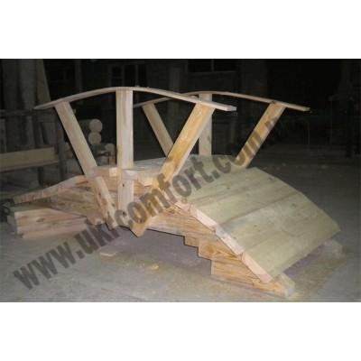 Мостик деревянный со сруба Medvejonok