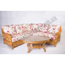 Угловой диван с приставным столиком Аскания