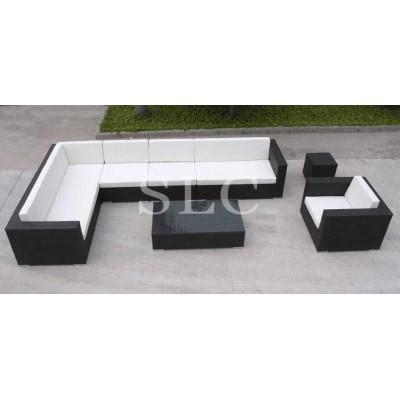 Комплект диванов из ротанга 0003
