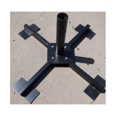 Крестовина-подставка под зонт с плитами