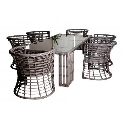 Обеденный комплект мебели FORT-9001