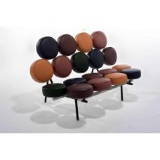 Кожаный диван 3А-SF3011-J