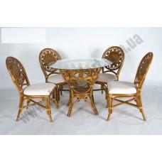 Обеденный комплект Аскания (стол +4 стула)