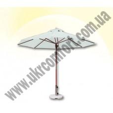 Деревянный зонт 0530 250 см.