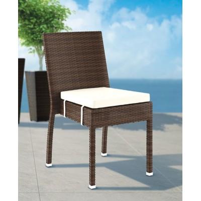 Ротанговый стул MINA с подушкой