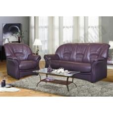 Кожаный диван Биарриц-C