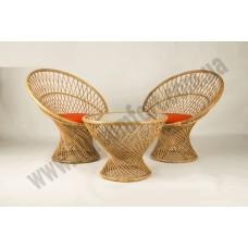 Кофейный комплект Сенди (Столик +2 кресла)