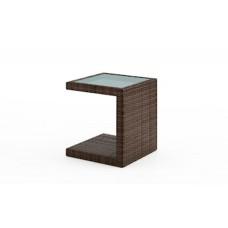 Столик к шезлонгу со стеклом ROMEO