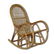 Кресло-качалка из лозы КК-4/3 с косой