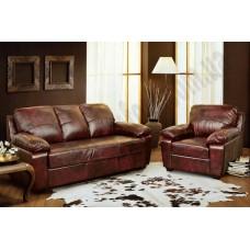 Кожаный диван Питсбург-C