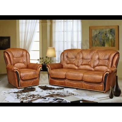 Кожаный диван Леонардо-C