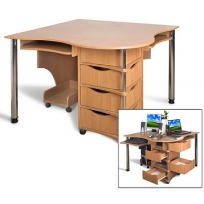 Компьютерный стол Эксклюзив - 4