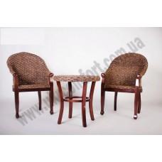 Кофейный комплект Кобра (столик +2 кресла)