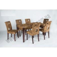 Обеденный комплект Лупита (стол +6 стульев)