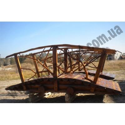 Мостик деревянный из сруба 3м Tsarevich