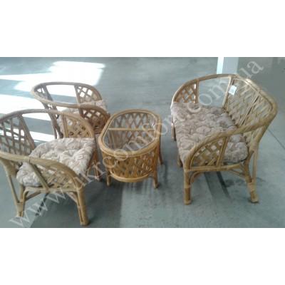 Комплект мебели из натурального ротанга 2179