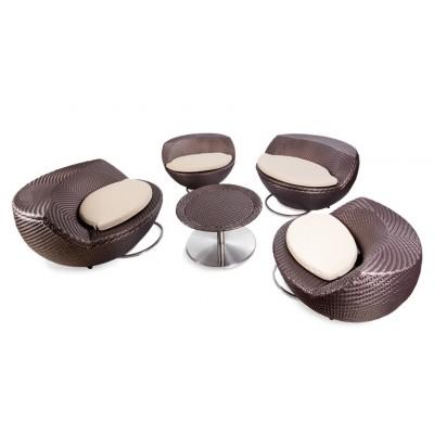 Комплект мебели из ротанга для отдыха ГОЛЬФ