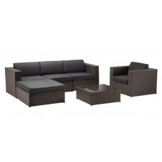 Комплект мебели из искусственного ротанга 0001