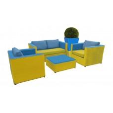 Комплект мебели из искусственного ротанга 0122