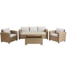 Комплект мебели из искусственного ротанга1704