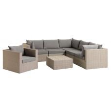 Садовый комплект мебели из искусственного ротанга 1714