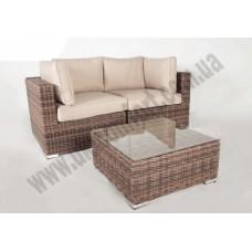 Модульный диван двойка + столик Раунд