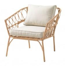 Кресло из искусственного ротанга1180