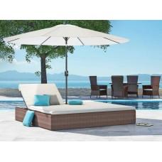 Ротанговый шезлонг-диван Майями
