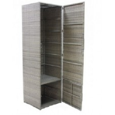 Шкаф из искусственного ротанга 7037