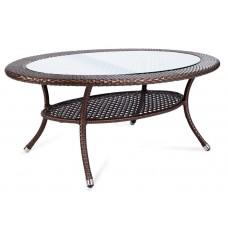 Овальный кофейный столик из ротанга CF35-ОТТ609