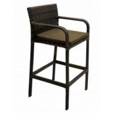 Барный стул из искусственного ротанга 7048