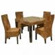 Плетеная мебель из абаки