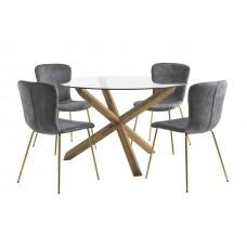 Обеденный набор с круглым столом 1259