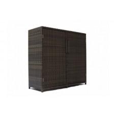 Шкаф из искусственного ротанга 7110