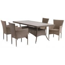 Комплект мебели из искусственного ротанга 1004