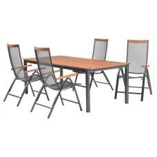 Комплект стол + 4 стула 1569