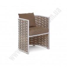 Кресло полукруглое из ротанга 6185