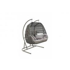 Подвесное кресло из искусственного ротанга 7069
