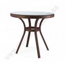 Стол для кафе из ротанга 6070