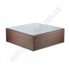 Ротанговый кофейный стол 6133
