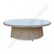 Круглый стол для кофейни из ротанга 6141
