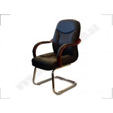 Кресло конференционное Гранд Конф Хром